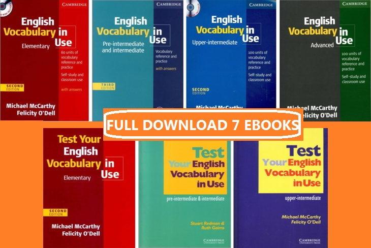 Tải sách: English Vocabulary in Use 3rd Edition (7 cuốn sách)