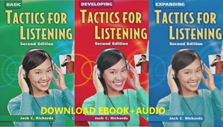 Tải sách: Bộ 3 cuốn sách Tactics For Listening 2nd edition(ebook+audio)