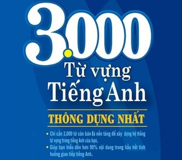 Tải sách: 3000 từ vựng tiếng anh thông dụng nhất (ebook + audio)