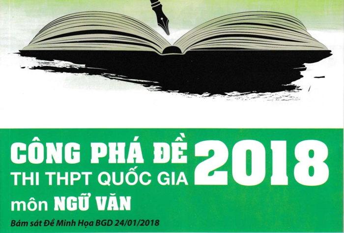 Tải sách: Công Phá Đề Thi THPT Quốc Gia 2018 Môn Ngữ Văn