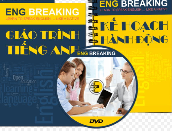 Tải sách: Trọn bộ giáo trình Eng Breaking (ebook+audio)