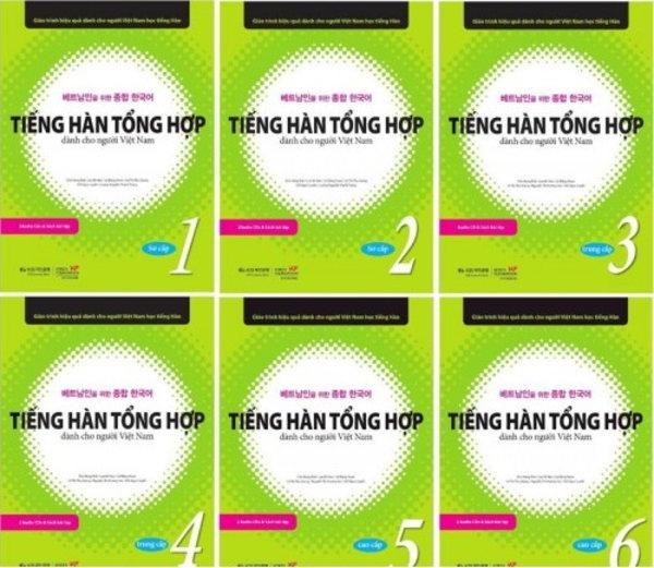 Tải sách: Bộ giáo trình Tiếng Hàn Tổng hợp 1,2,3,4,5,6 (ebook+audio)