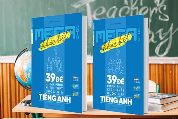 Tải sách: Mega: 39 đề chinh phục kỳ thi THPT Quốc Gia Tiếng Anh