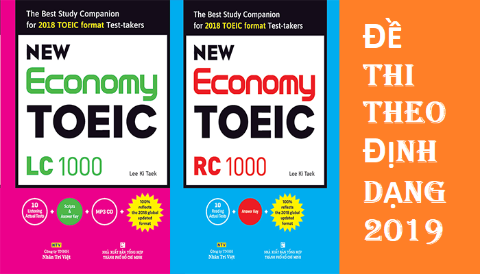 Tải sách: New Economy TOEIC:Theo format 2019 (ebook+audio)