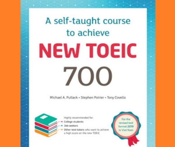 Tải sách: New TOEIC 700 ôn thi theo format mới 2019 (ebook+audio)