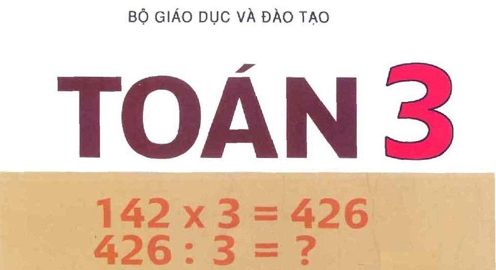 Tải sách: Sách giáo khoa toán lớp 3