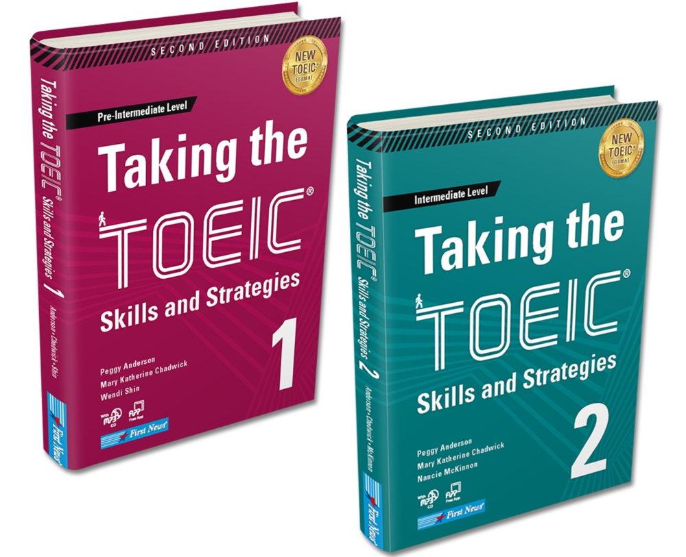 Tải sách: Trọn bộ sách Taking the TOEIC 1 và 2 (ebook+audio)