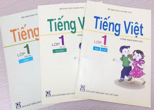 Tải sách: Sách giáo khoa tiếng việt công nghệ giáo dục lớp 1