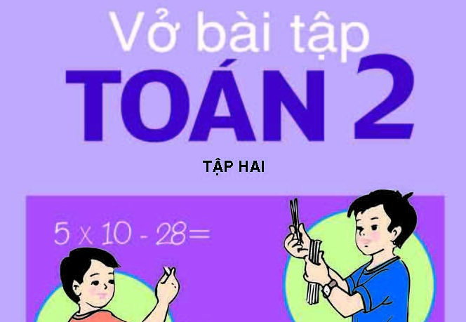 Tải sách: Vở bài tập toán lớp 2 tập 1,2