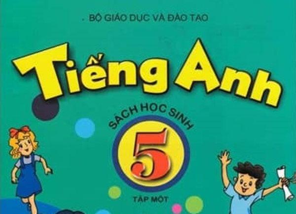 Tải sách: Sách Học Sinh Tiếng Anh Lớp 5 tập 1,2