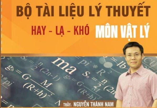 Tải sách: Bộ tài liệu lý thuyết hay-lạ-khó môn Vật lý