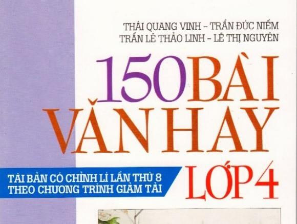 Tải sách: Tuyển tập 150 bài văn hay lớp 4