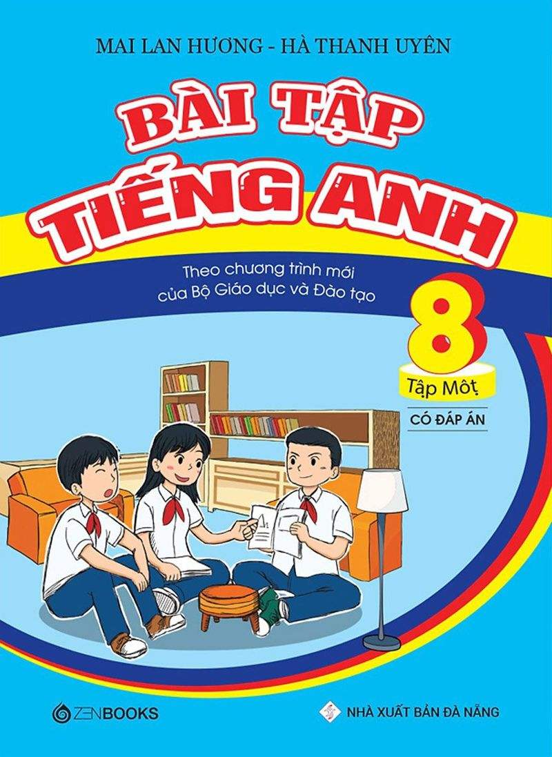 Tải sách: Bài tập tiếng anh 8 tập 1 – Mai Lan Hương