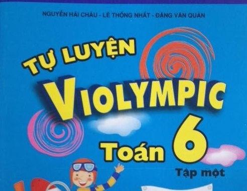 Tải sách: Tự luyện violympic toán lớp 6 tập 1,2