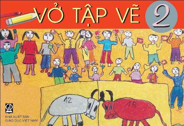 Tải sách: Vở tập vẽ lớp 2