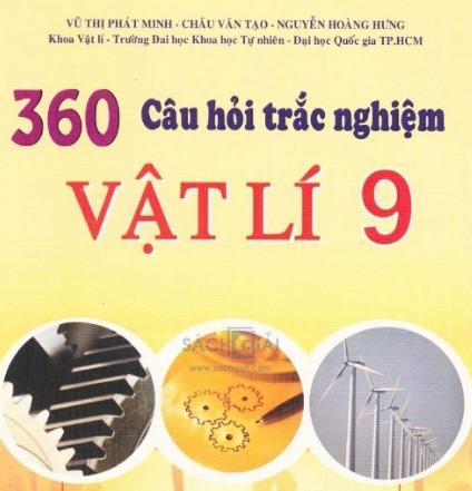 Tải sách: 360 Câu Hỏi Trắc Nghiệm Vật Lí 9