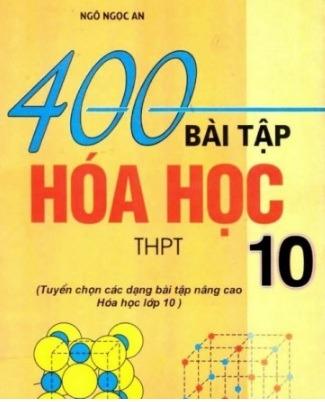 Tải sách: 400 Bài Tập Hóa Học 10