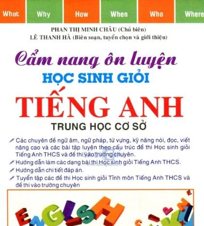 Tải sách: Cẩm Nang Ôn Luyện Học Sinh Giỏi Tiếng Anh THCS