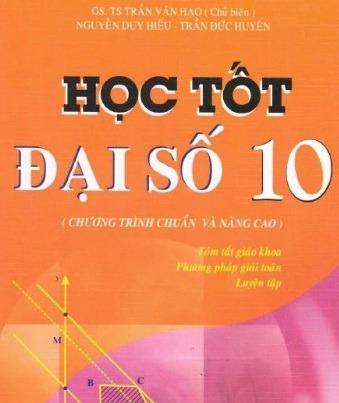 Tải sách: Học Tốt Đại Số 10