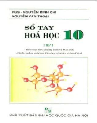 Tải sách: Sổ Tay Hóa Học THPT Lớp 10