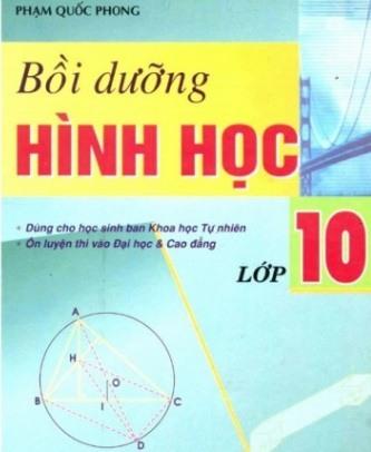 Tải sách: Bồi Dưỡng Hình Học Lớp 10
