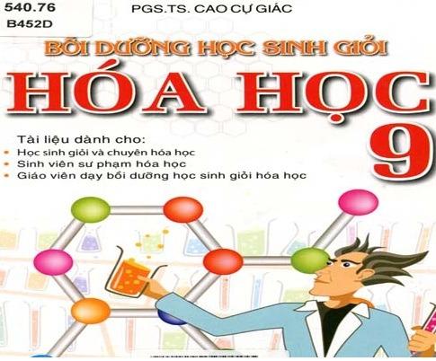 Tải sách: Bồi Dưỡng Học Sinh Giỏi Hóa Học 9