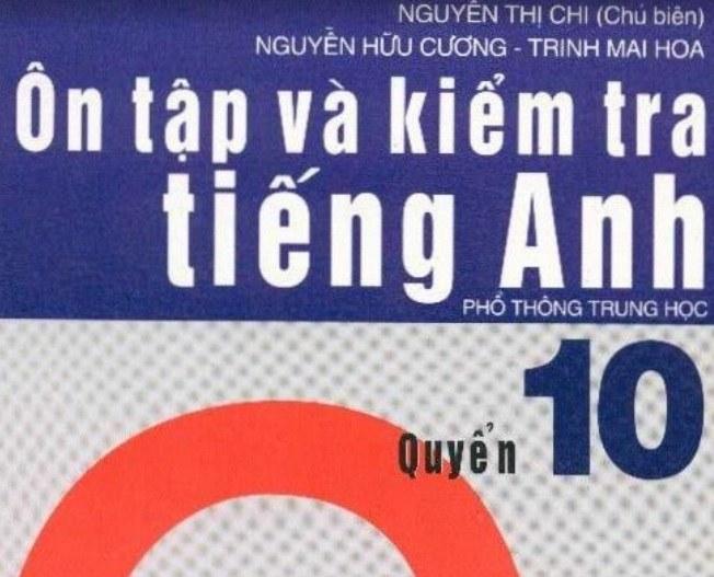 Tải sách: Ôn Tập Và Kiểm Tra Tiếng Anh Quyển 10