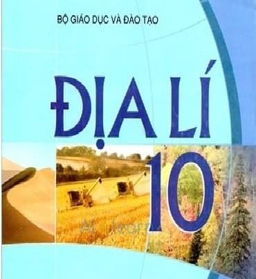 Tải sách: Sách Giáo Khoa Địa Lí Lớp 10