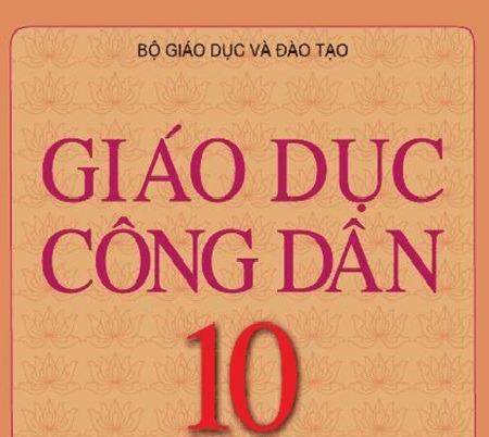 Tải sách: Sách Giáo Khoa Giáo Dục Công Dân Lớp 10
