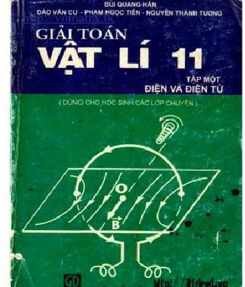Tải sách: Giải Toán Vật lý 11 Điện và Điện Từ  Tập 1