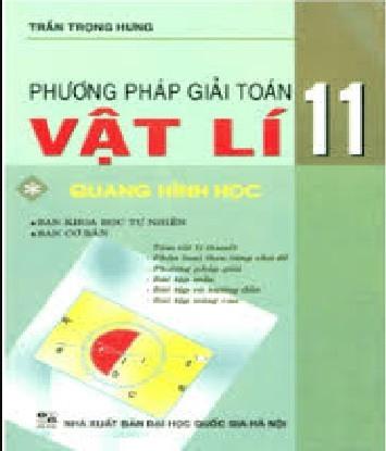 Tải sách: Phương Pháp Giải Toán Vật Lý 11 Tập 1: Quang Hình Học