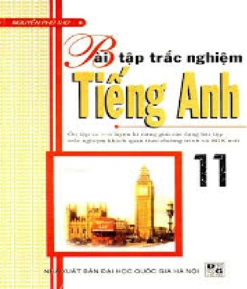 Tải sách: Bài Tập Trắc Nghiệm Tiếng Anh 11