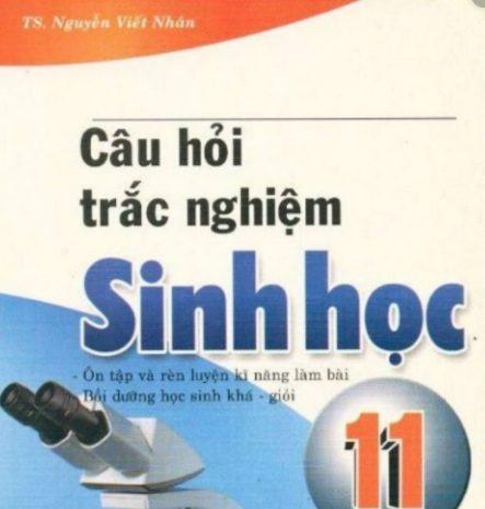 Tải sách: Câu Hỏi Trắc Nghiệm Sinh Học 11