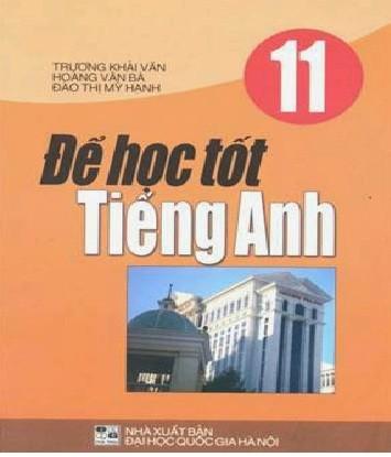 Tải sách: Để Học Tốt Tiếng Anh 11