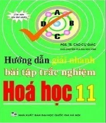 Tải sách: Hướng Dẫn Giải Nhanh Bài Tập Trắc Nghiệm Hóa Học 11
