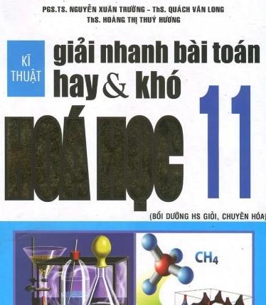 Tải sách: Kỹ Thuật Giải Nhanh Bài Toán Hay Và Khó Hóa Học 11