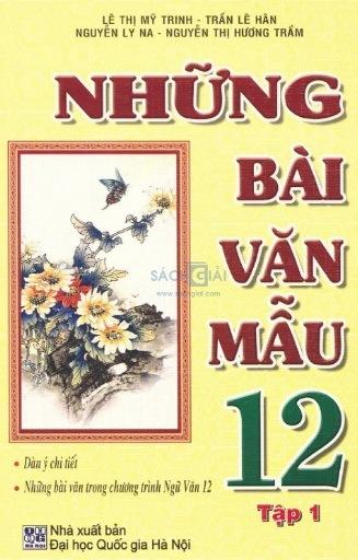Tải sách: Những Bài Văn Mẫu 12 Trọn Bộ Tập 1, Tập 2