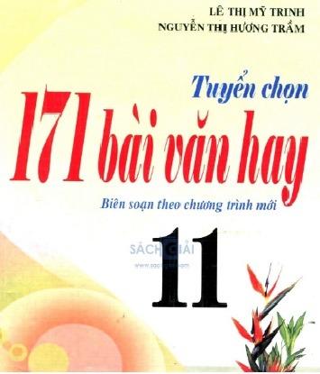 Tải sách: Tuyển Chọn 171 Bài Văn Hay 11