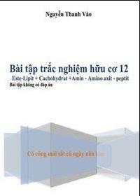 Tải sách: Bài Tập Trắc Nghiệm Hóa Học Hữu Cơ 12