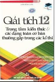 Tải sách: Giải Tích 12 Lâm Hồng Liên