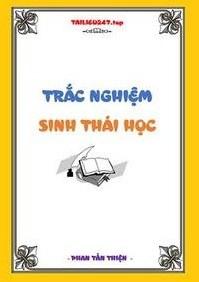 Tải sách: Trắc Nghiệm Sinh Thái Học