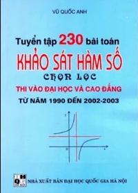 Tải sách: Tuyển Tập 230 Bài Toán Khảo Sát Hàm Số Chọn Lọc