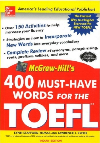 Tải sách: 400 Must Have Words For The TOEFL