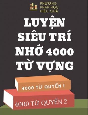Tải sách: Luyện Siêu Trí Nhớ 4000 Từ Vựng Tiếng Anh