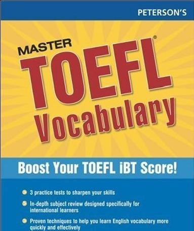Tải sách: Master TOEFL Vocabulary