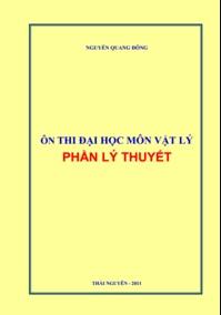 Tải sách: Ôn Thi Đại Học Môn Vật Lý Phần Lý Thuyết