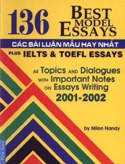 Tải sách: 136 Bài Luận Mẫu Tiếng Anh Hay Nhất