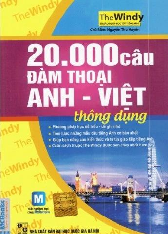 Tải sách: 20.000 Câu Đàm Thoại Anh Việt Thông Dụng