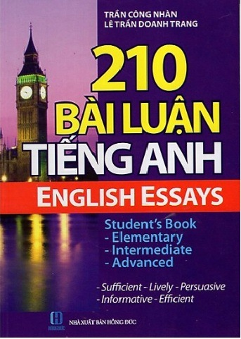 Tải sách: 210 Bài Luận Tiếng Anh