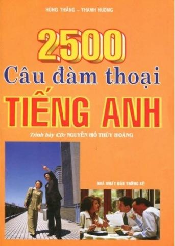 Tải sách: 2500 Câu Đàm Thoại Tiếng Anh